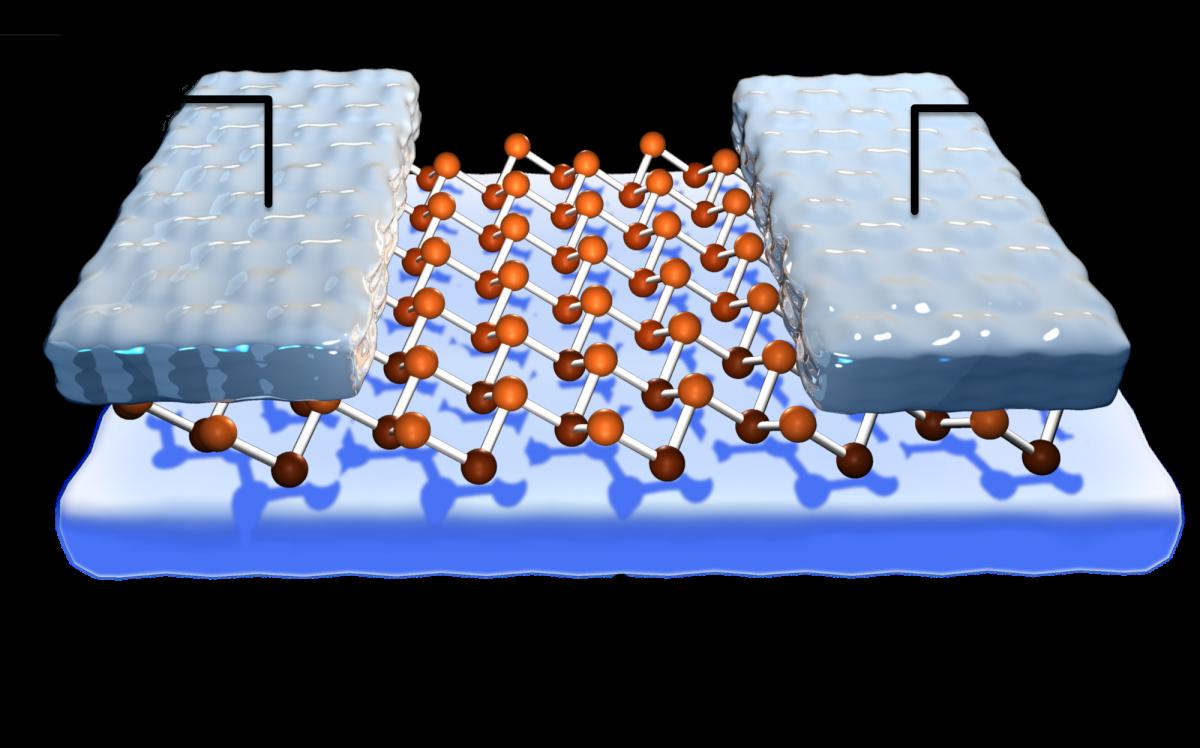 Monoelemental 2D materials-based field effect transistors ...